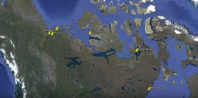 Map Of Canada North Of 60.Sts Cyril Methodius Ukrainian Catholic Church North Of 60